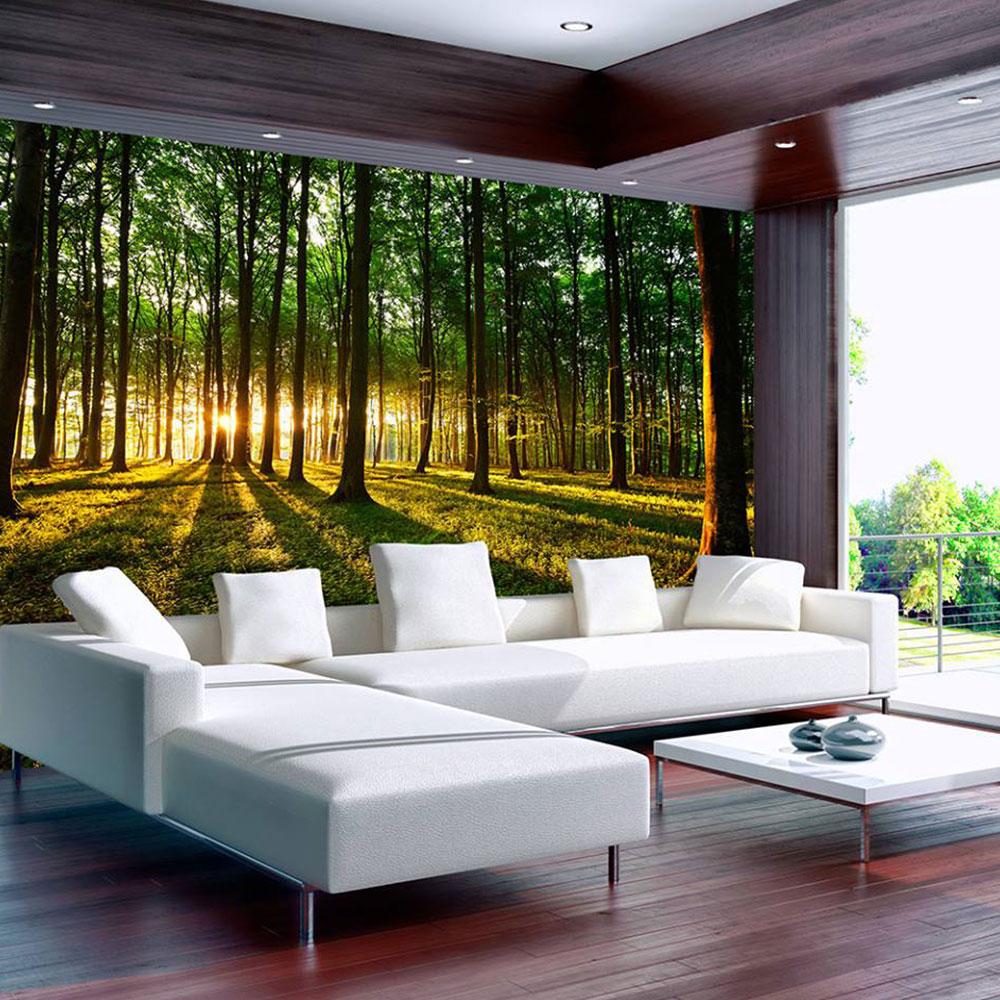 Aufregend Baum Tapete Galerie Von Wohndesign Dekor